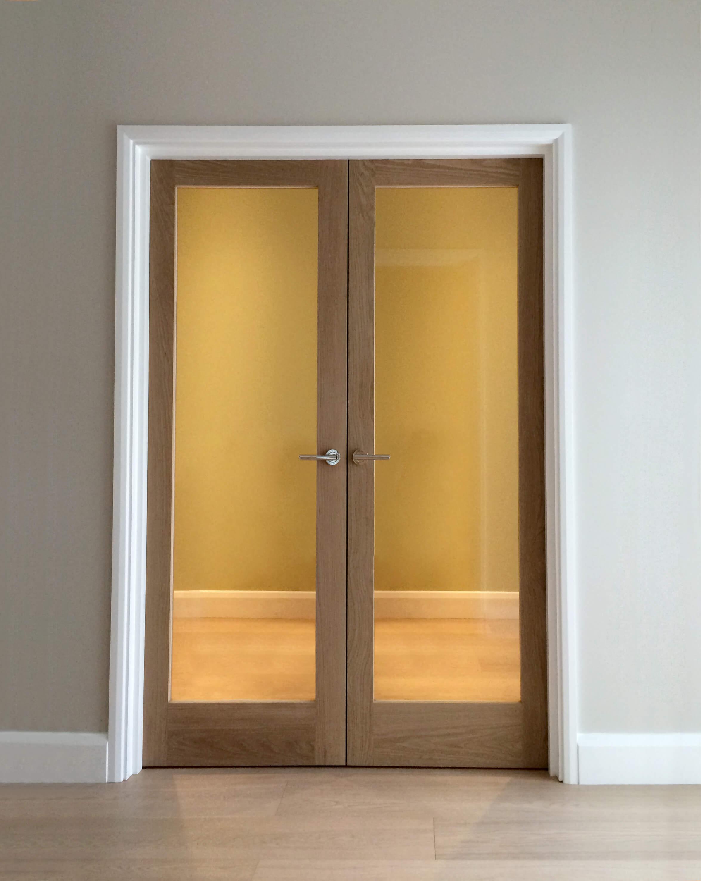 official photos f4f18 5c72c Internal Glazed Double Doors - London Door Company