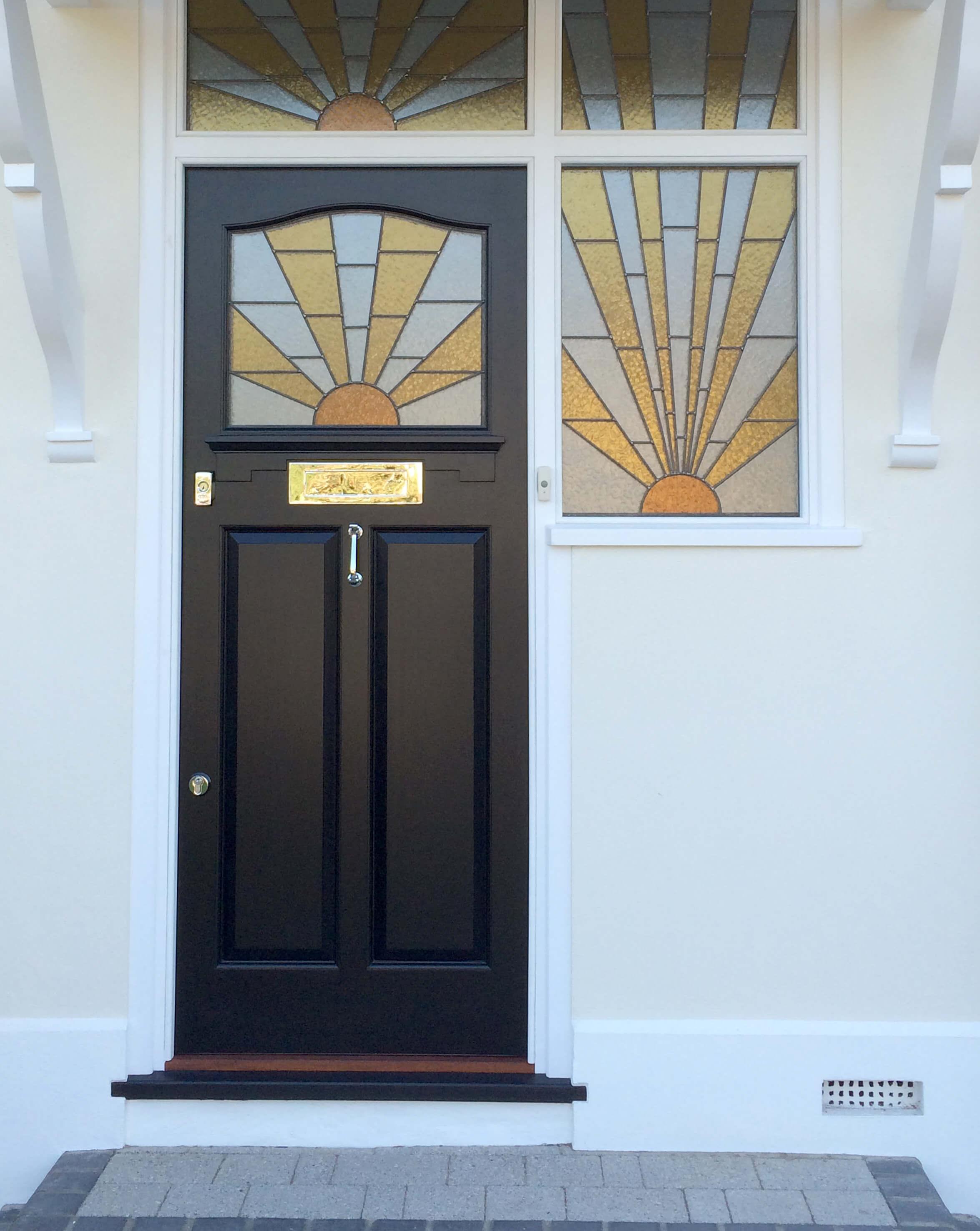art deco style front door london door company