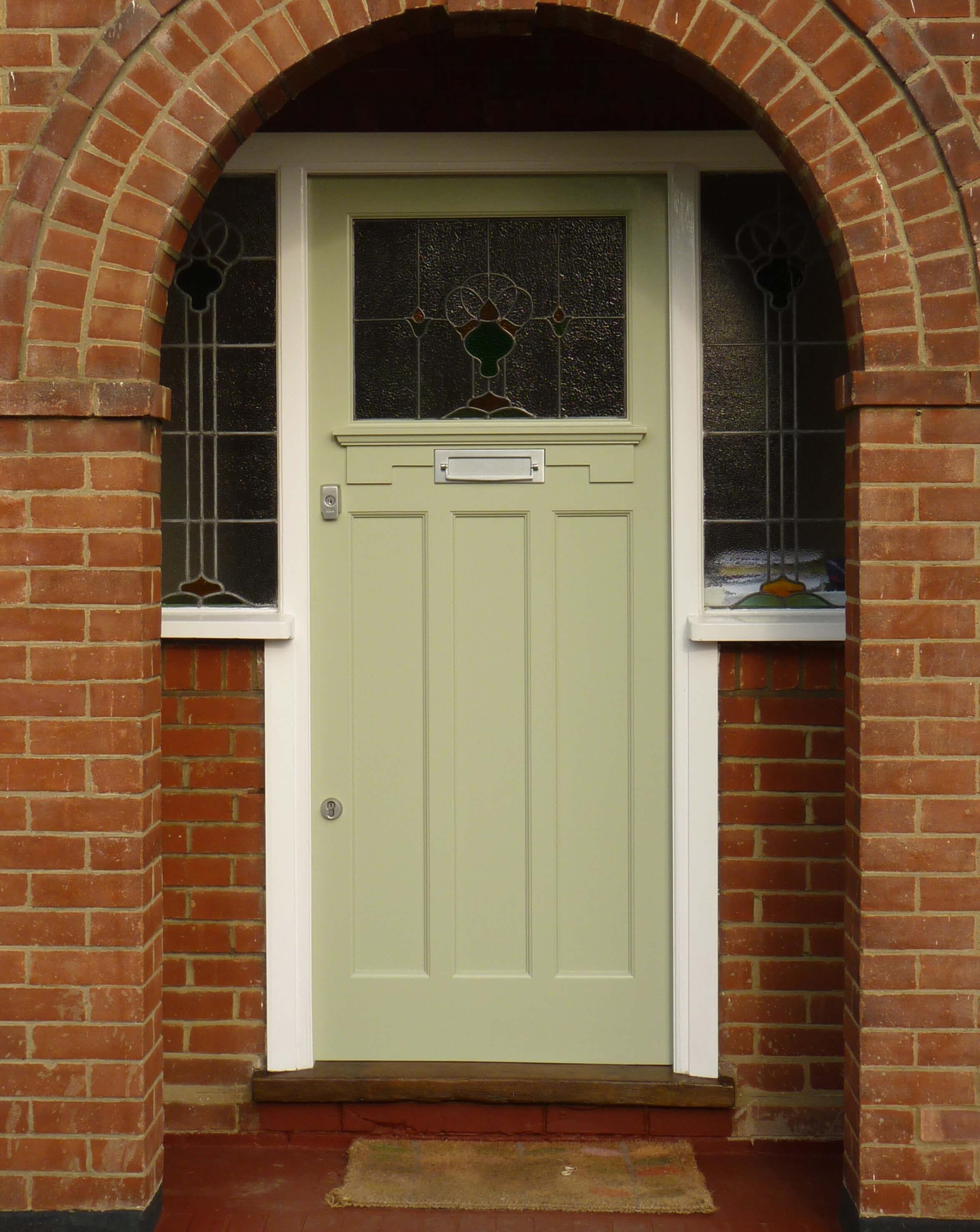 1930s Arched Front Door London Door Company