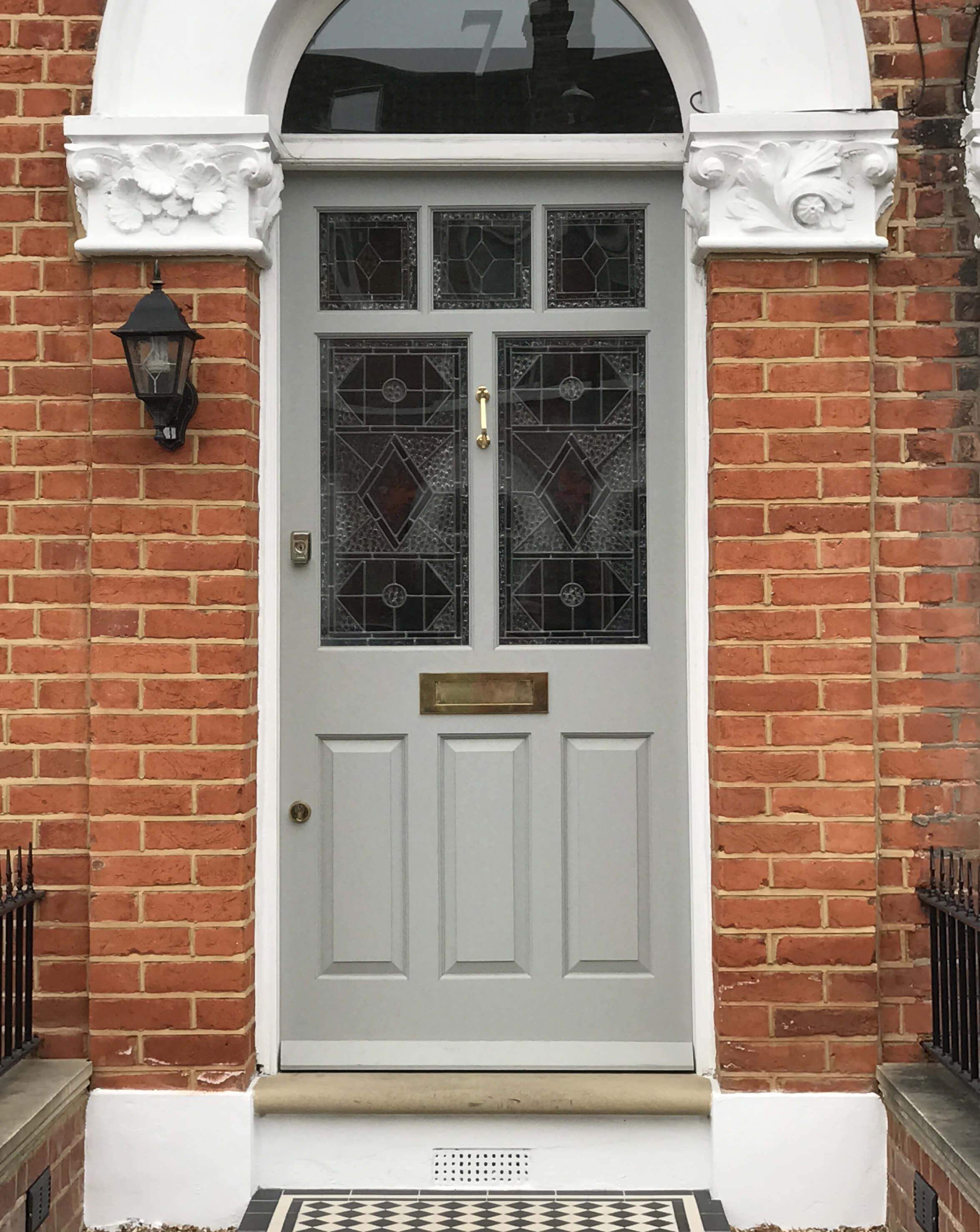 8 Panel Edwardian Door London Door Company