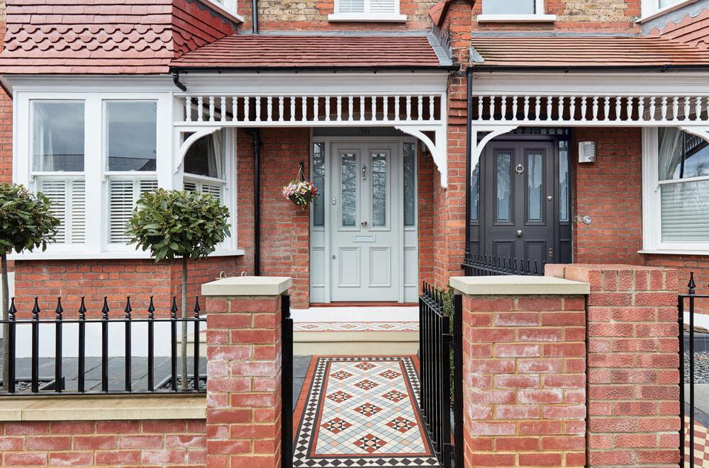 Front Door Design 1