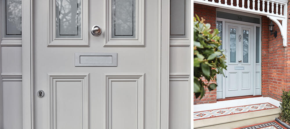 grey front doors 1