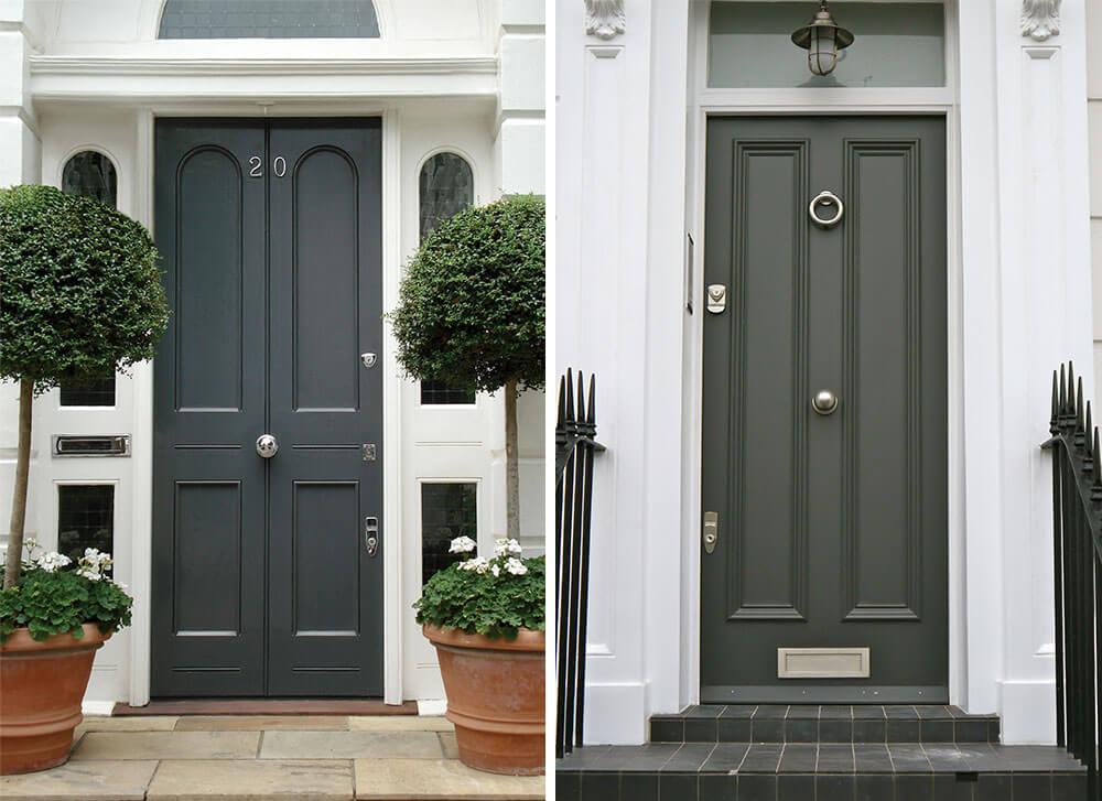 grey front doors 4