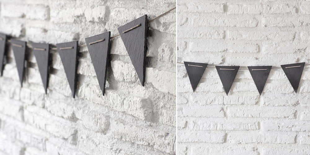 Halloween decor bunting