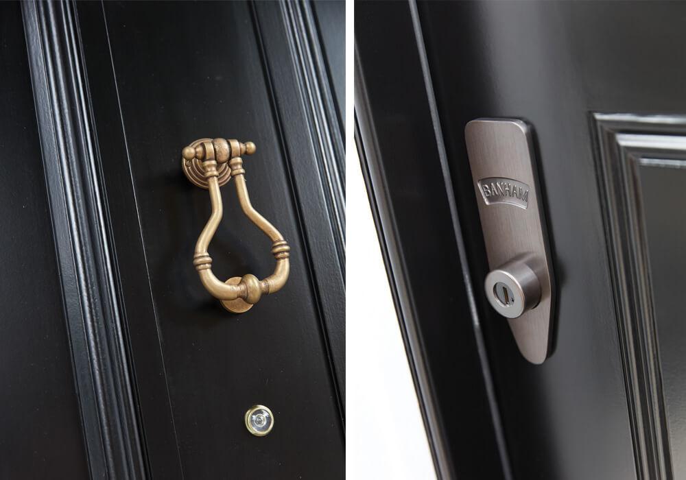 Georgian Black Front Door