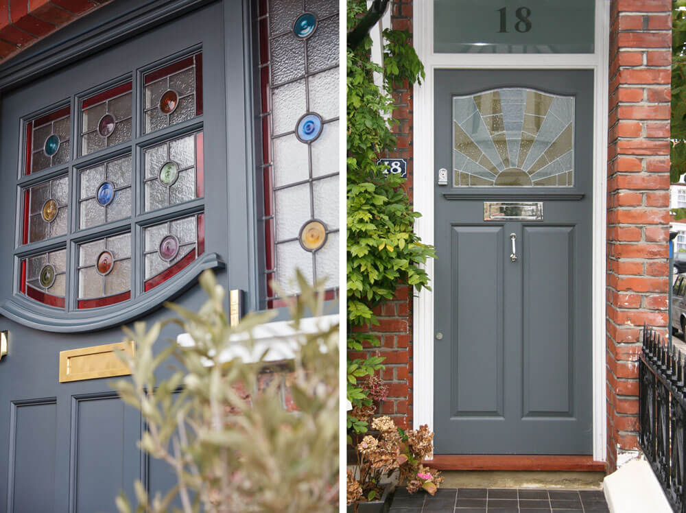 20s and 30s front doors