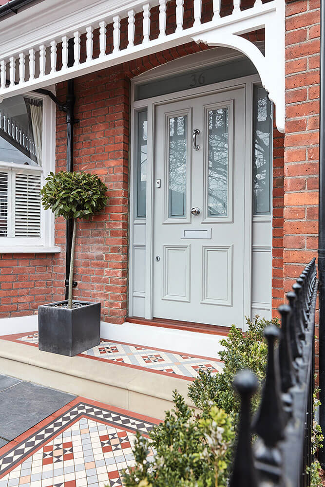 how to add value to your home - victorian style front door