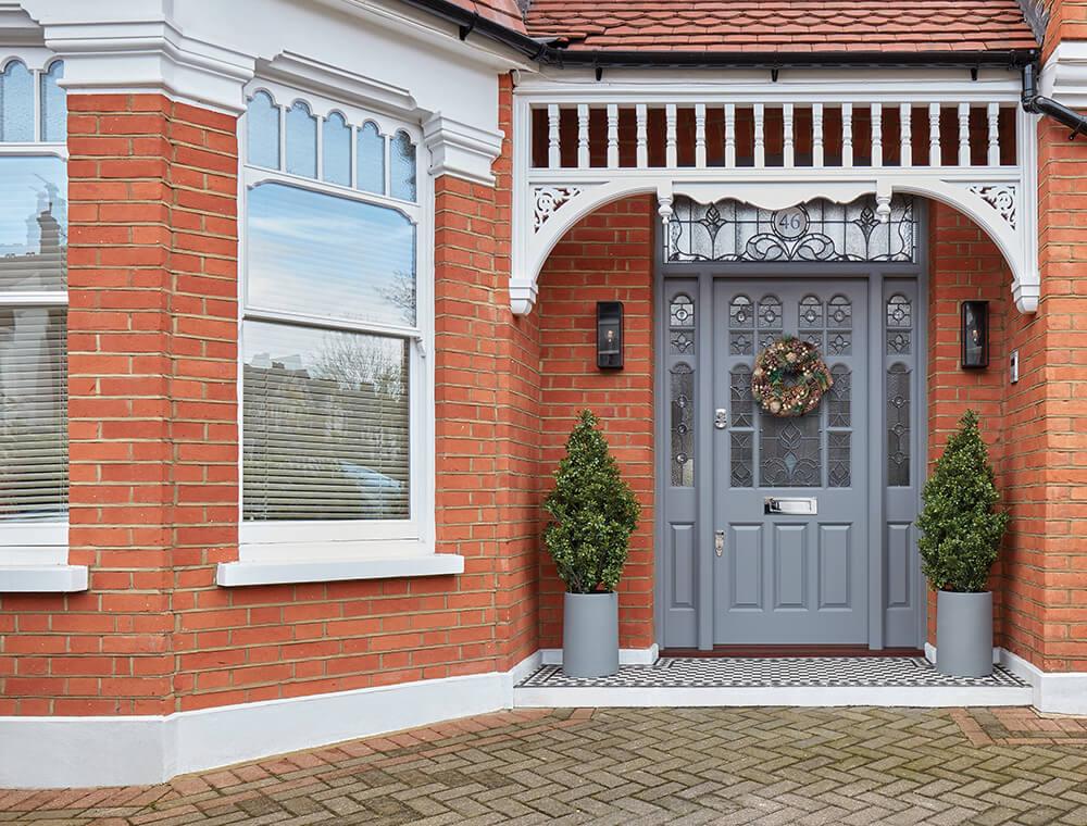 victorian new front door