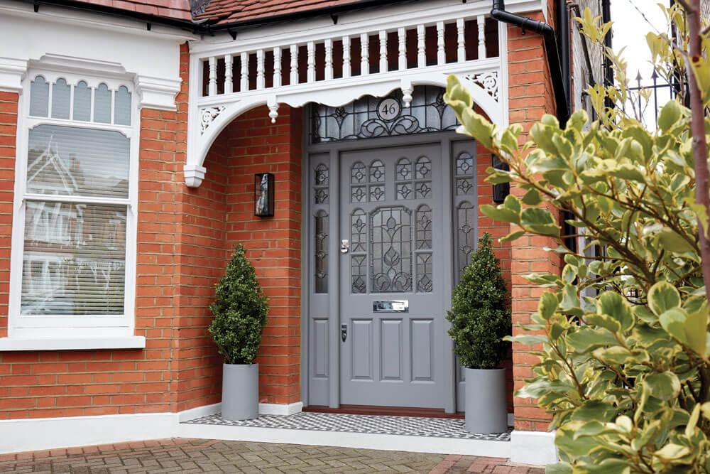 Victorian Leadlight Door