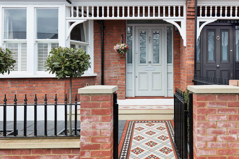 Period Victorian Front Door