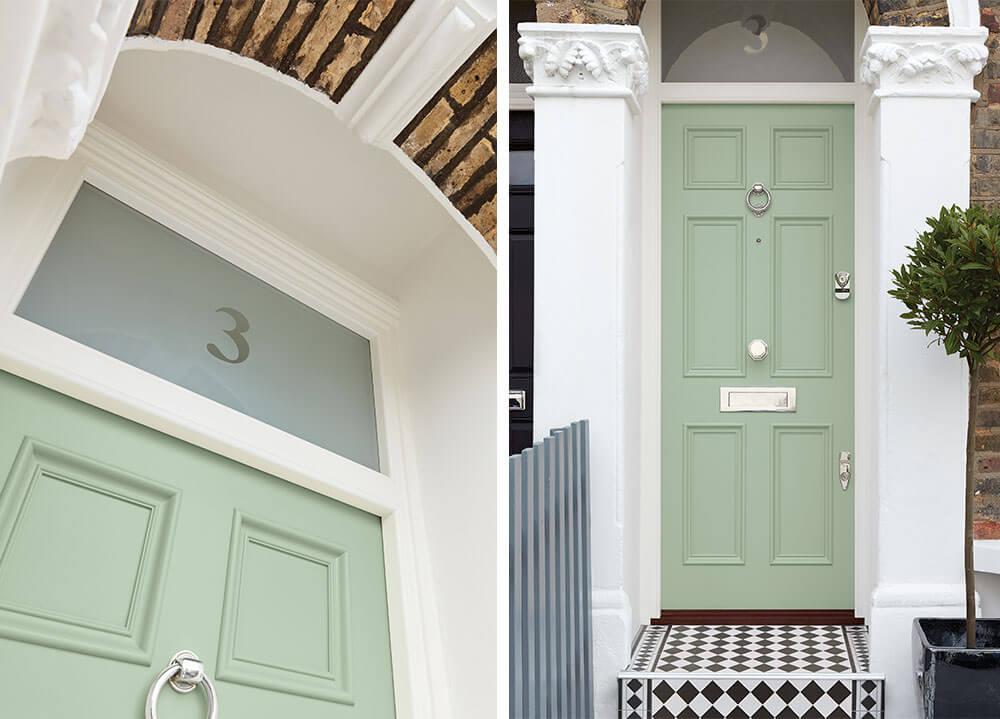 Victorian Wood Front Door