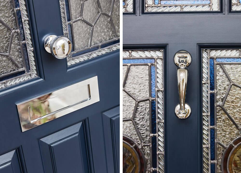 Blue Victorian Door