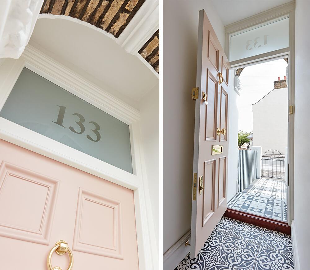 Pink Victorian Door