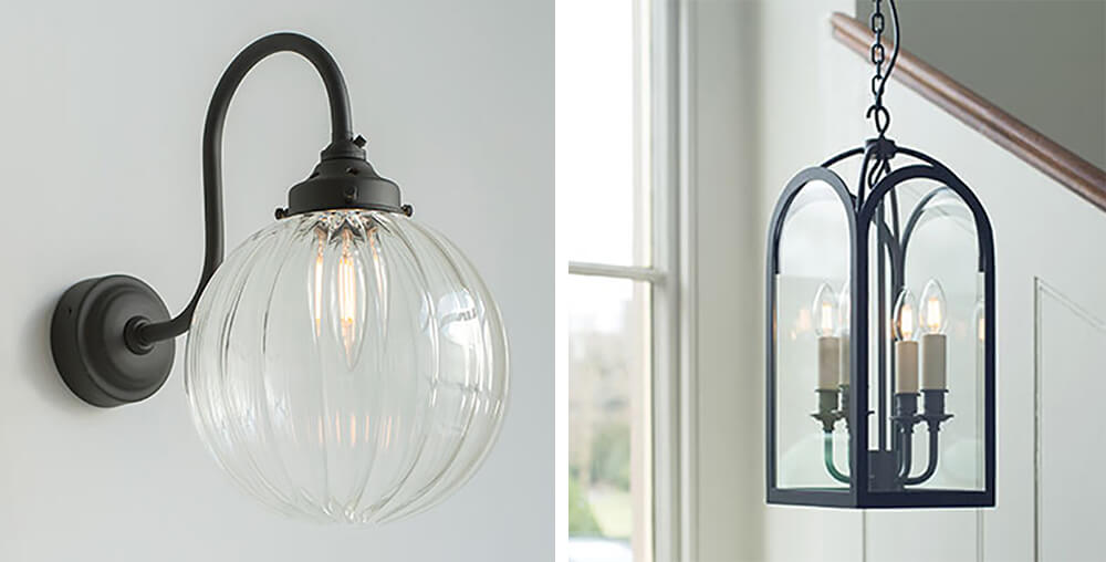 Jim Lawrence Putney Wall light and Hall Lantern