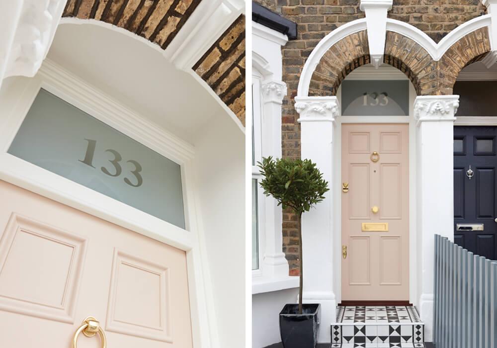 Our Pink Victorian Door London Door Company