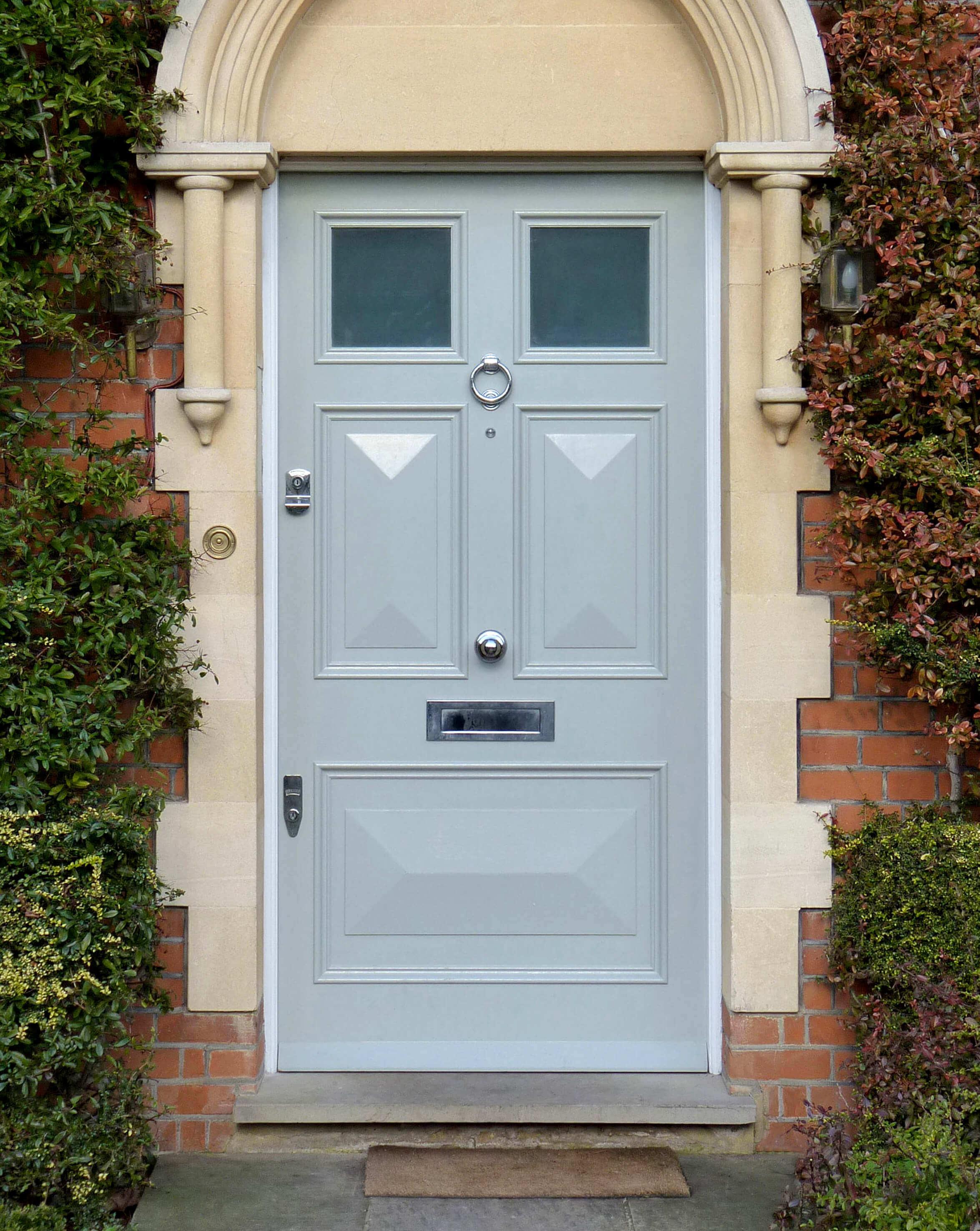 Georgian Front Door with Gl - London Door Company on