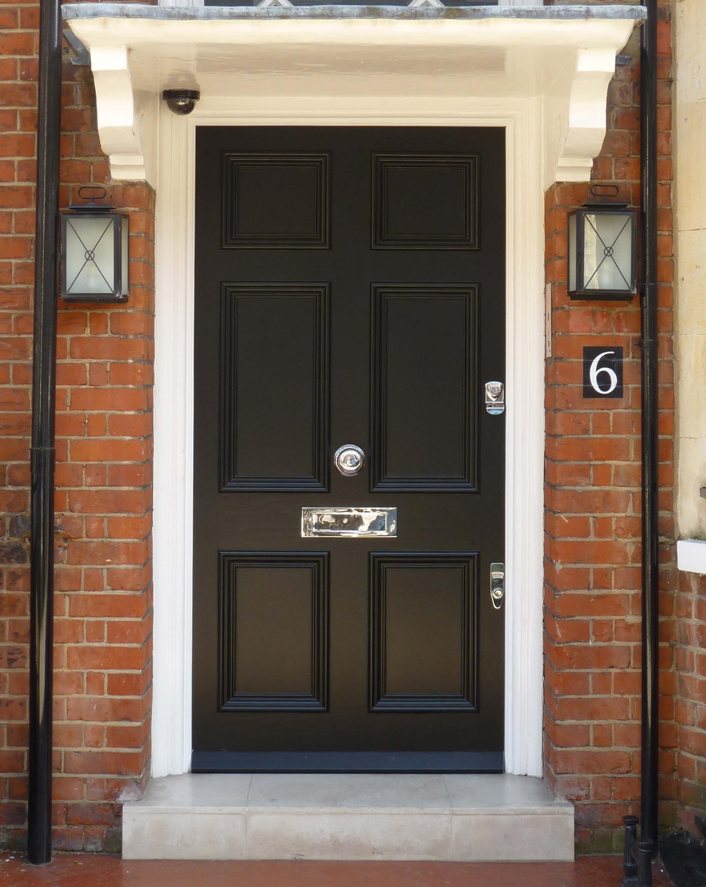 Black Georgian Door London Door Company