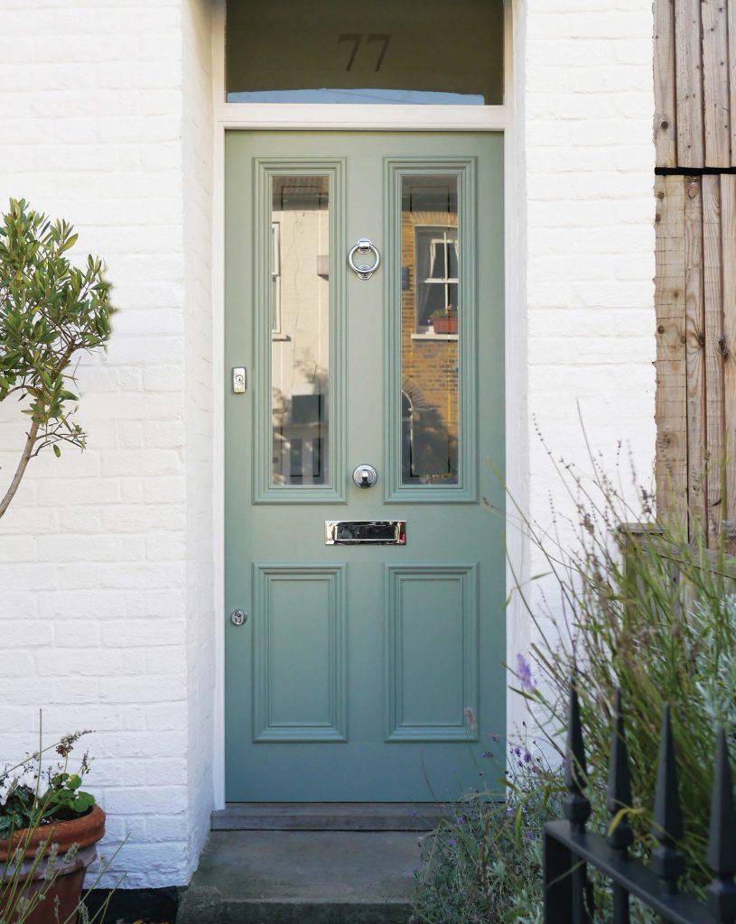 Victorian Cottage Front Door