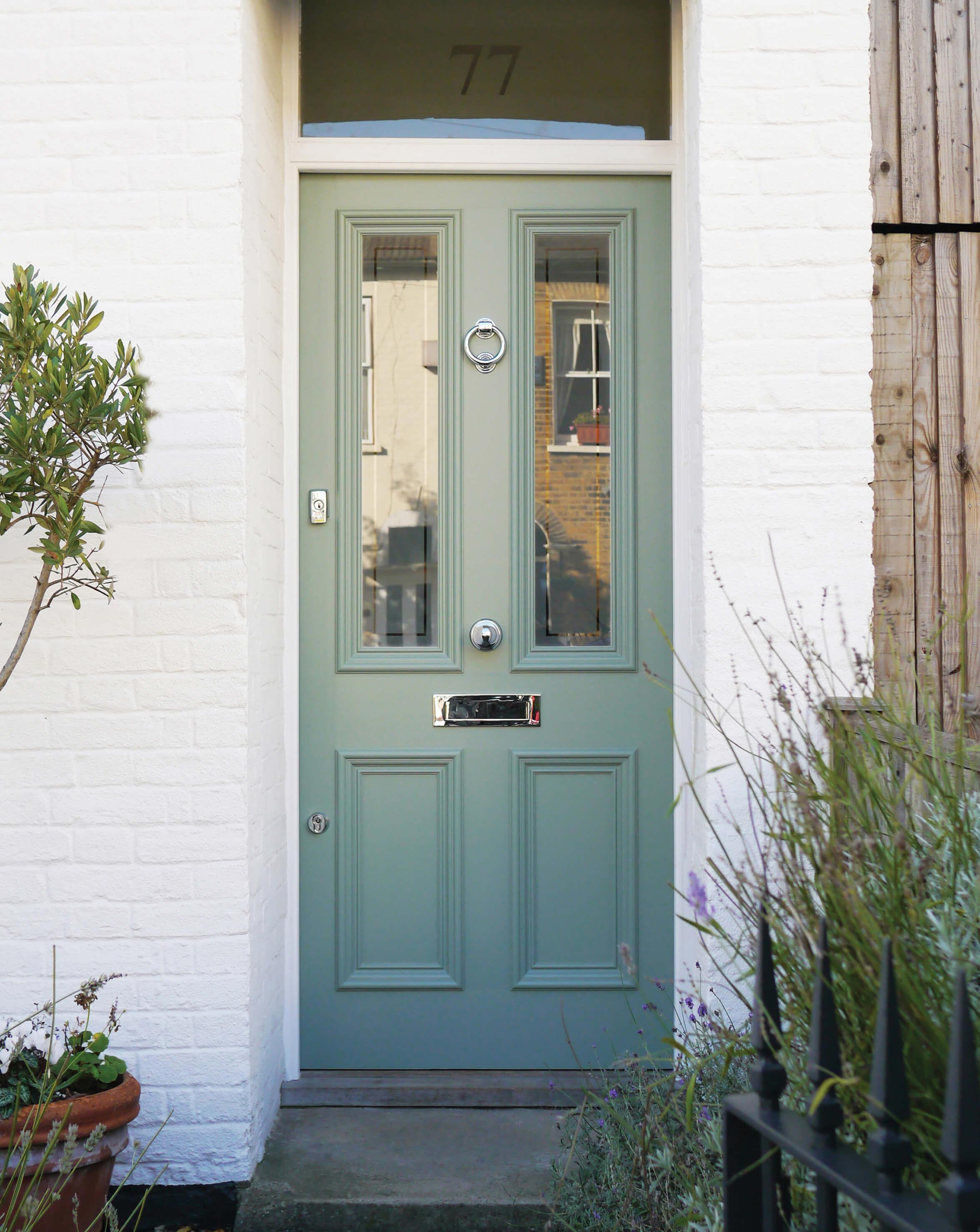 Victorian Terrace Front Door London Door Company