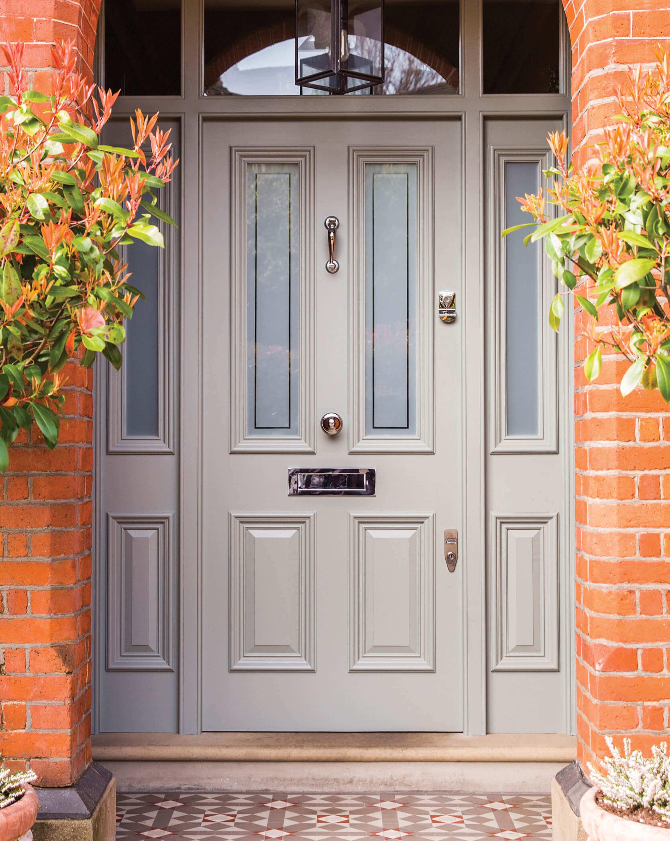 Grey Victorian Front Door London Door Company