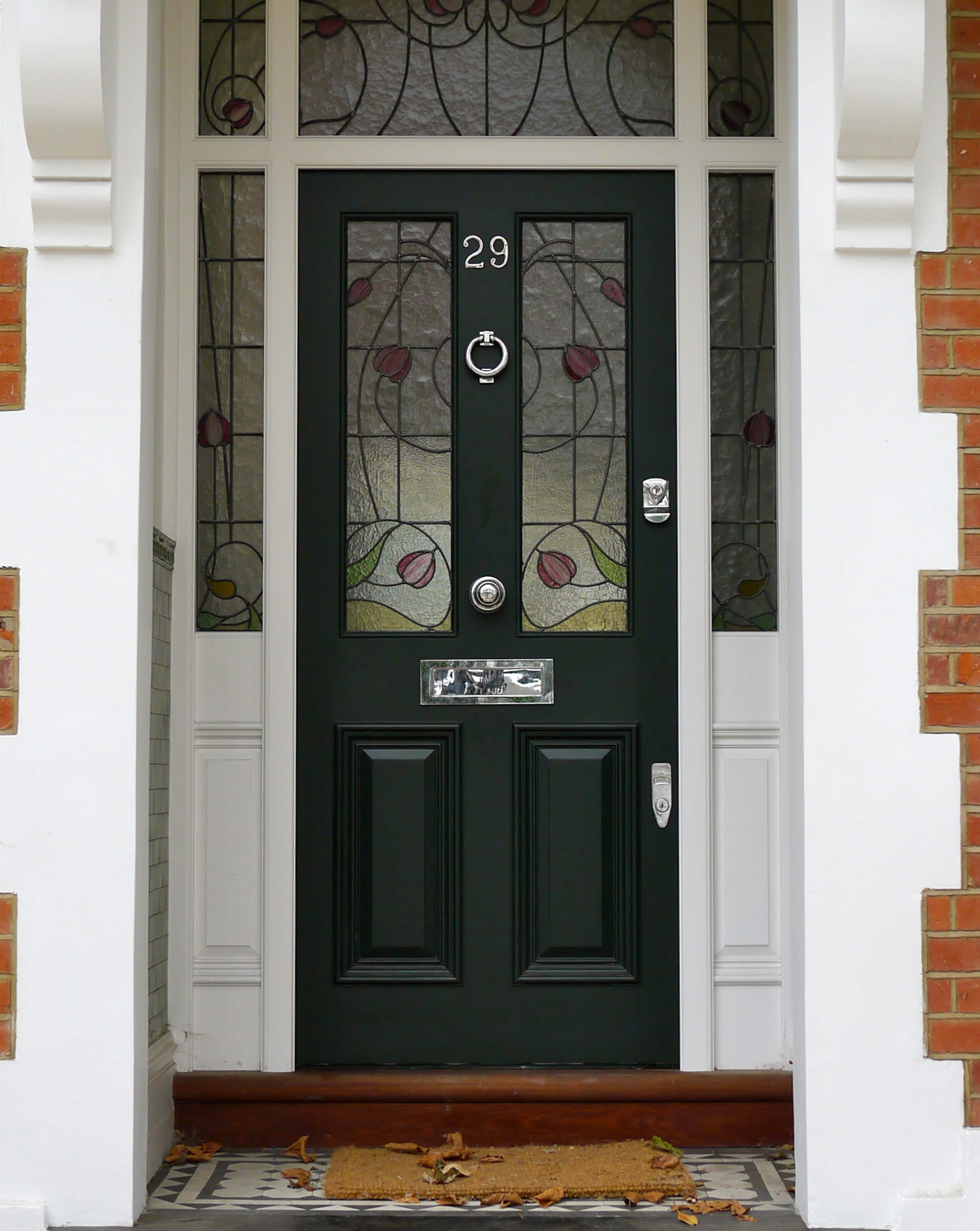 Black Victorian Front Door London Door Company