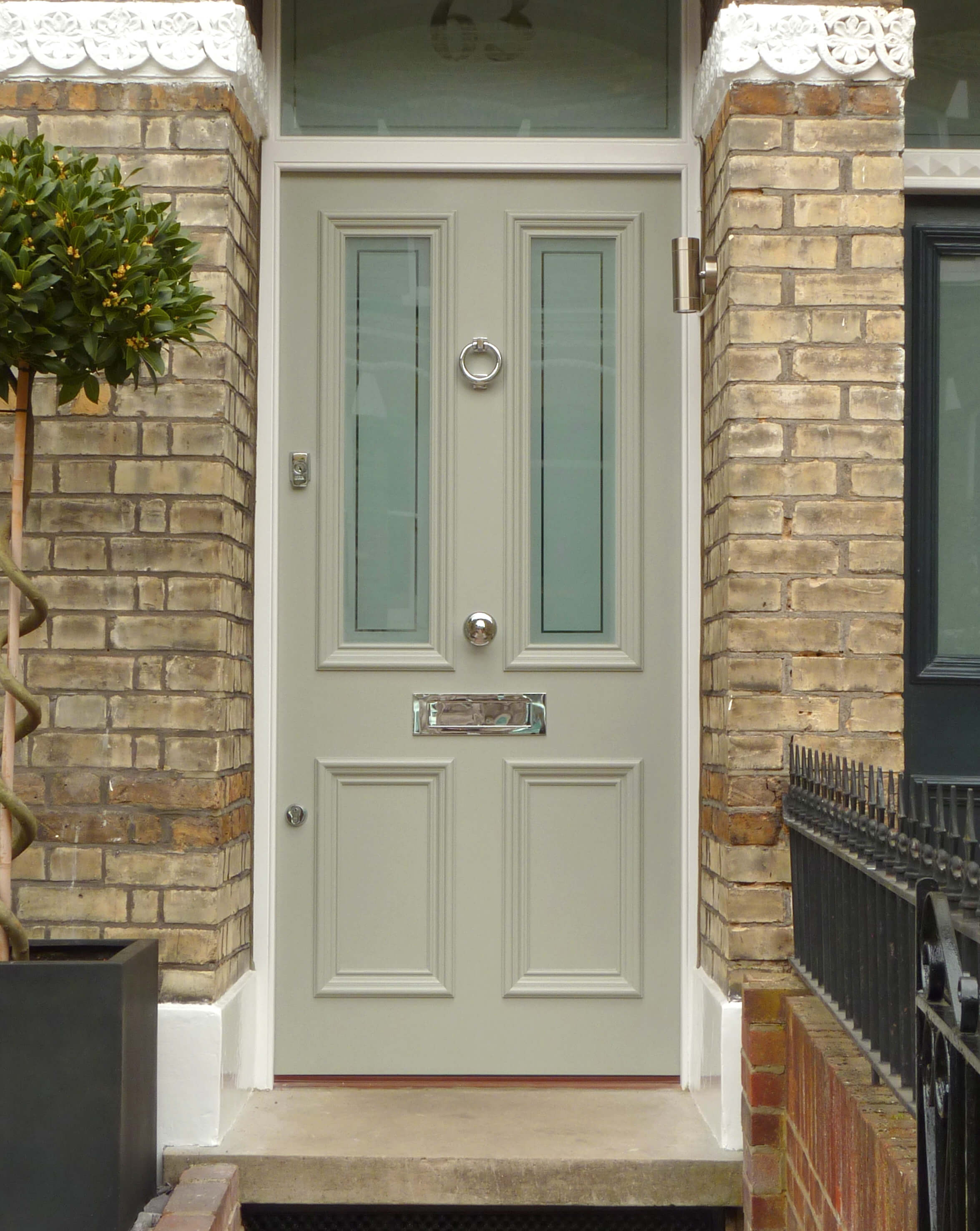 Traditional Victorian Front Door London Door Company