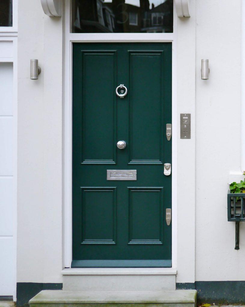 Blue Victorian Door London Door Company