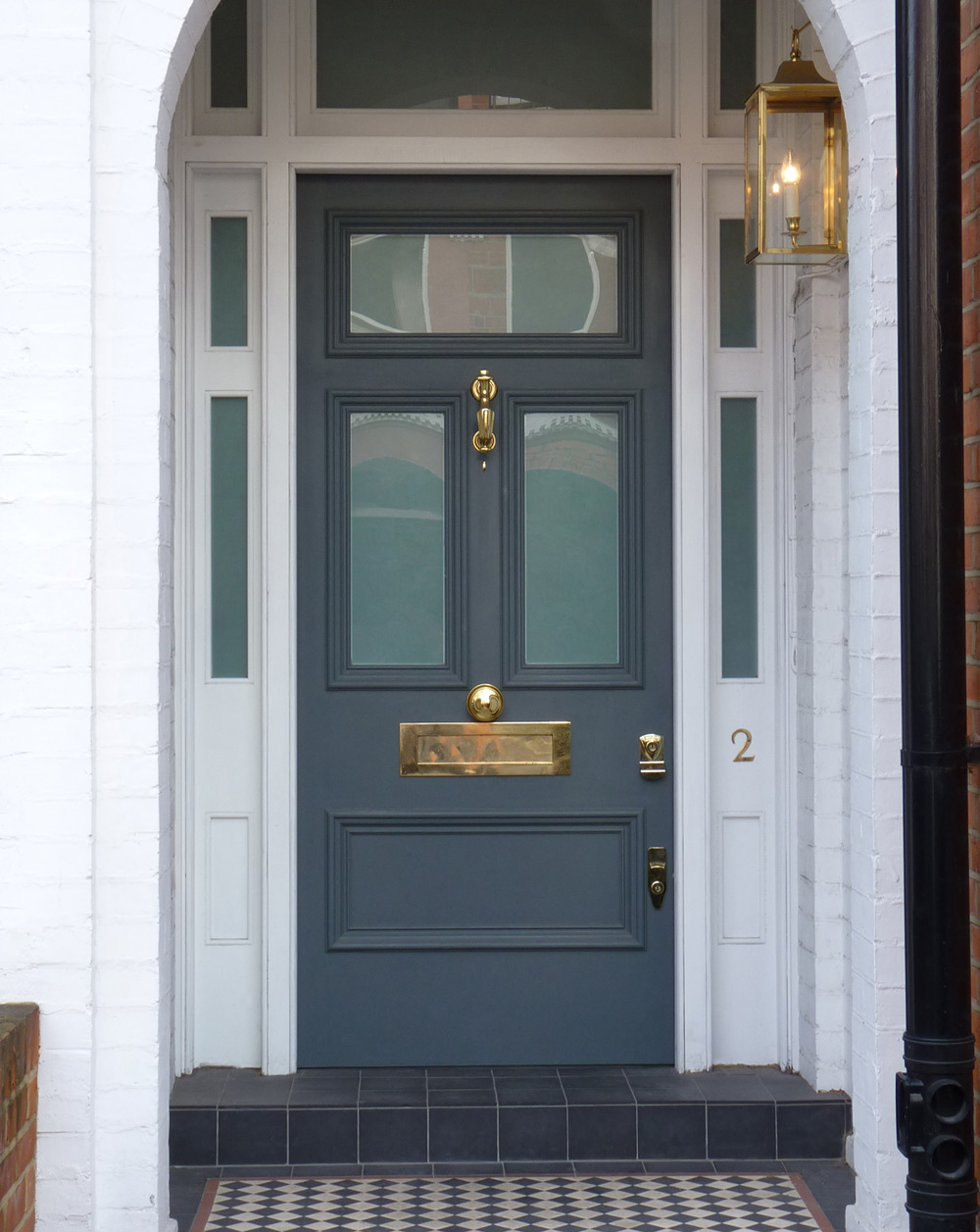 Victorian Etched Glass Door London Door Company