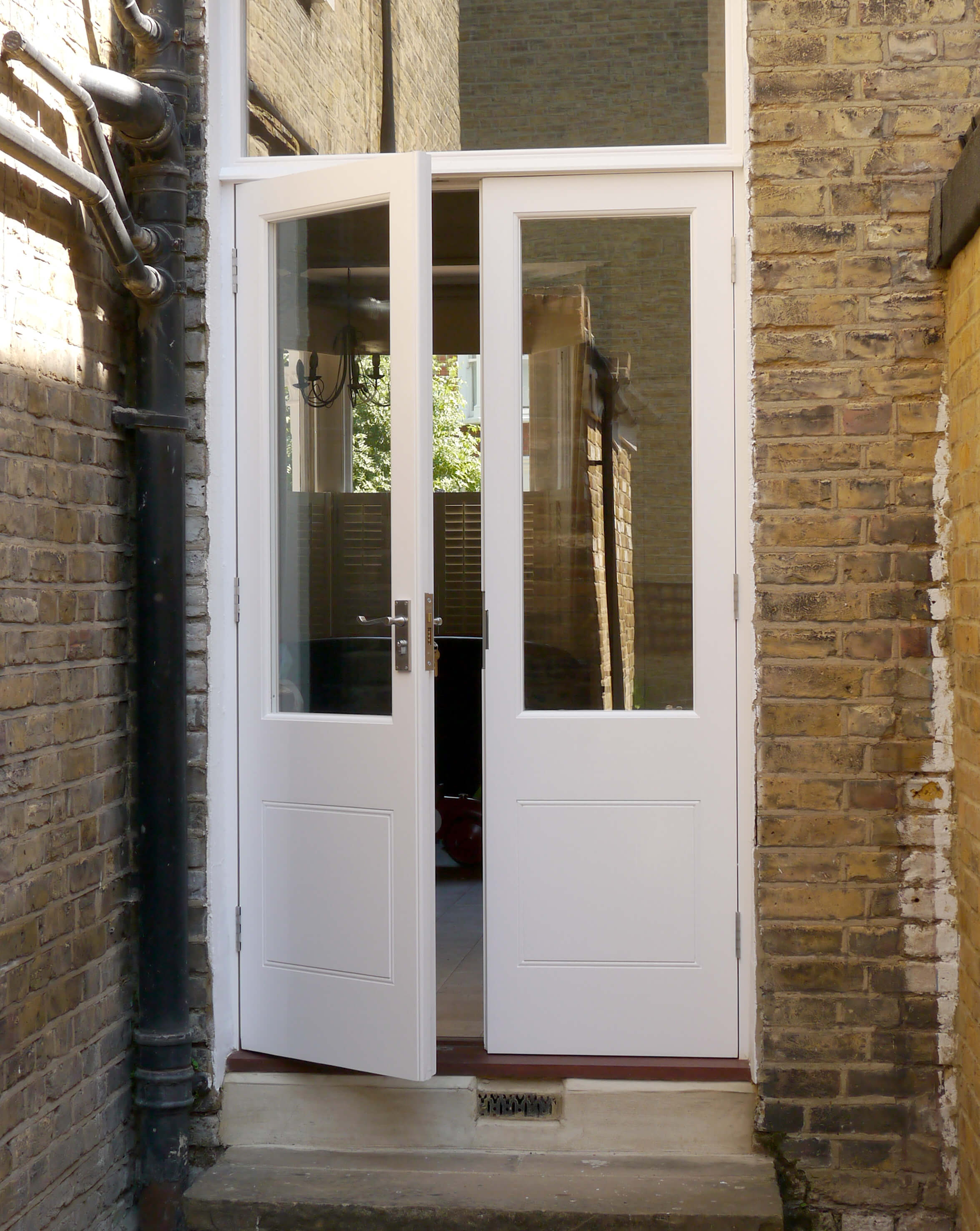 Double Garden Doors , London Door Company