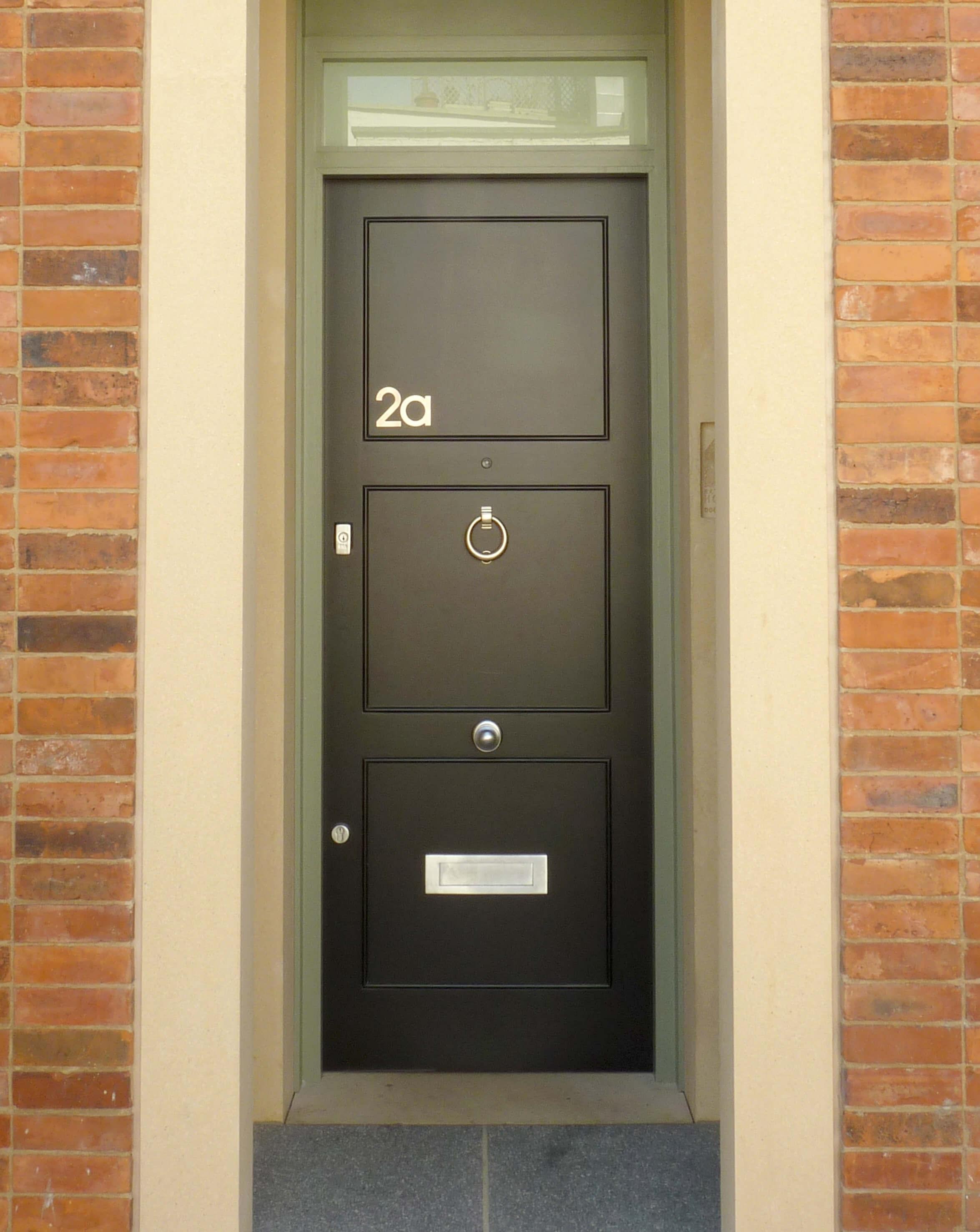 Modern Black Front Door London Door Company